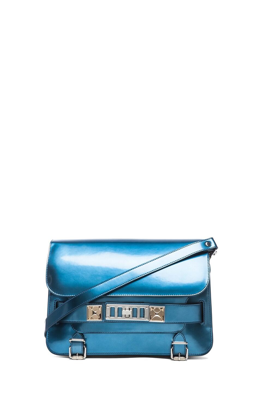 Image 1 of Proenza Schouler PS11 Mirror Classic Bag in Ocean