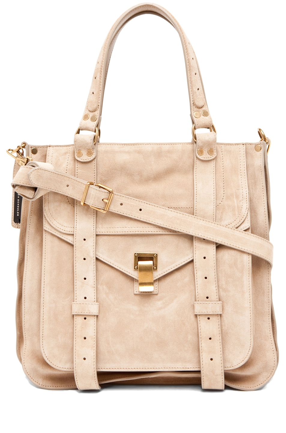 Image 1 of Proenza Schouler PS1 Tote Suede  in Stone