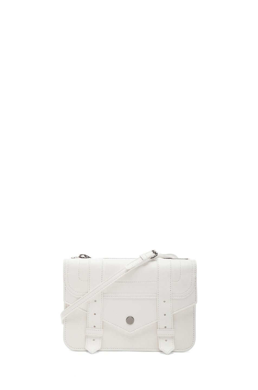 Image 1 of Proenza Schouler PS1 Crossbody Wallet in White
