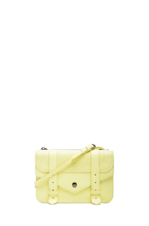 Image 1 of Proenza Schouler PS1 Crossbody Wallet in Lemon