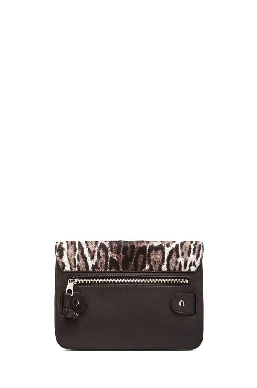 Image 2 of Proenza Schouler Mini PS11 Classic Leopard Print in White, Grey & Black