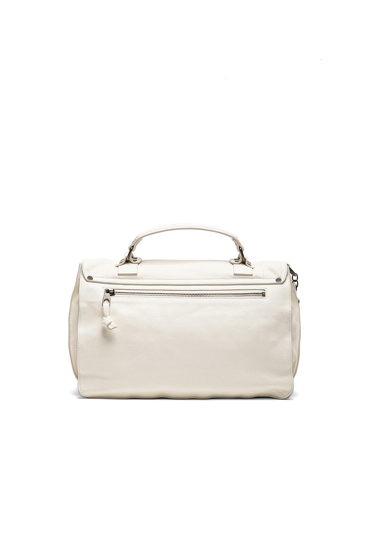 Image 2 of Proenza Schouler Medium Fringe PS1 Bag in White