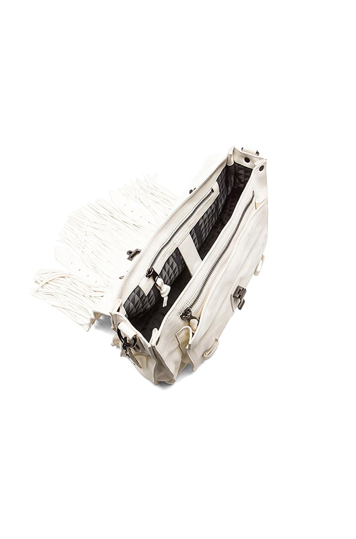 Image 4 of Proenza Schouler Medium Fringe PS1 Bag in White