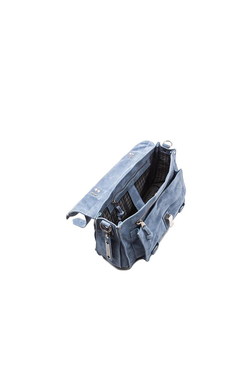 Image 5 of Proenza Schouler Medium PS1 Suede in Breeze