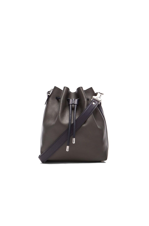Image 1 of Proenza Schouler Medium Bucket Bag in Anthracite & Navy