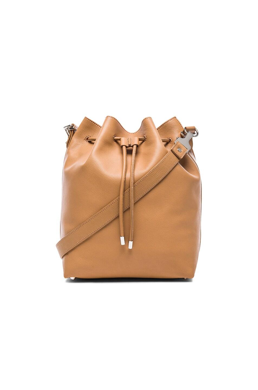 Image 1 of Proenza Schouler Large Bucket Bag with Metallic Leather in Desert & Copper
