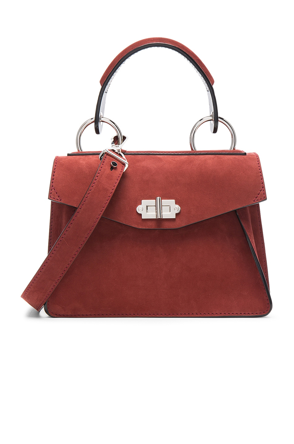 Image 1 of Proenza Schouler Small Hava Top Handle Bag in Midnight Plum