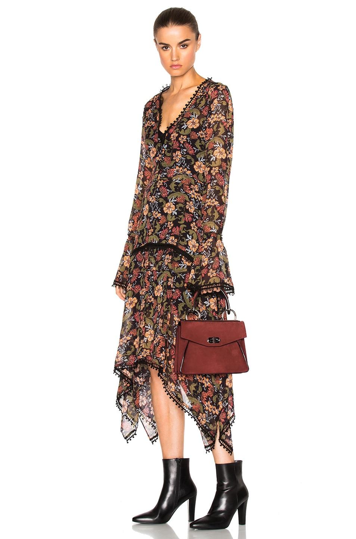 Image 2 of Proenza Schouler Small Hava Top Handle Bag in Midnight Plum