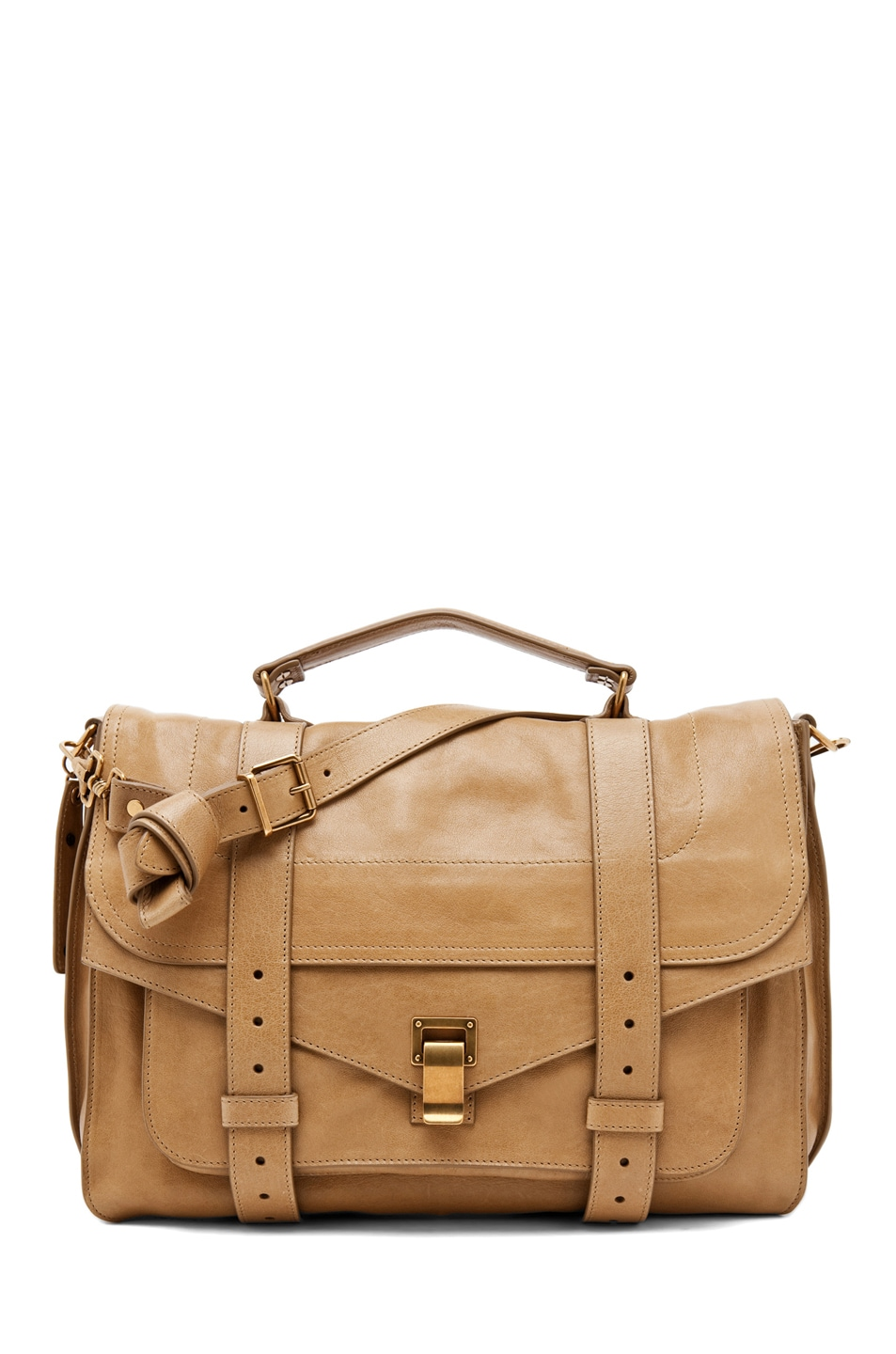 Image 1 of Proenza Schouler Large PS1 Leather in Bronze