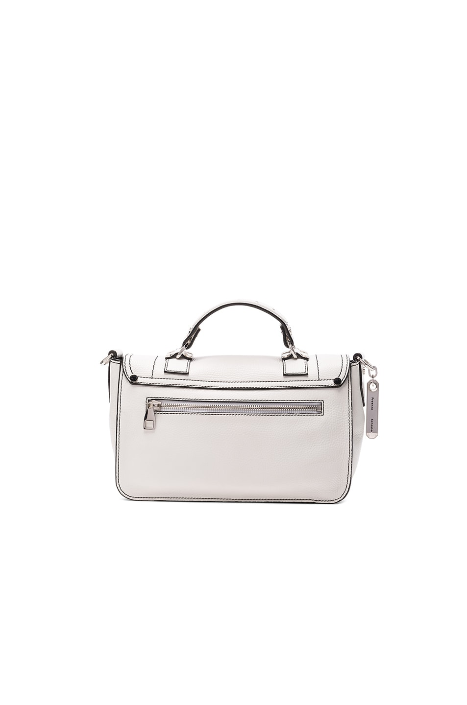 Image 2 of Proenza Schouler Tiny PS1+ in Optic White