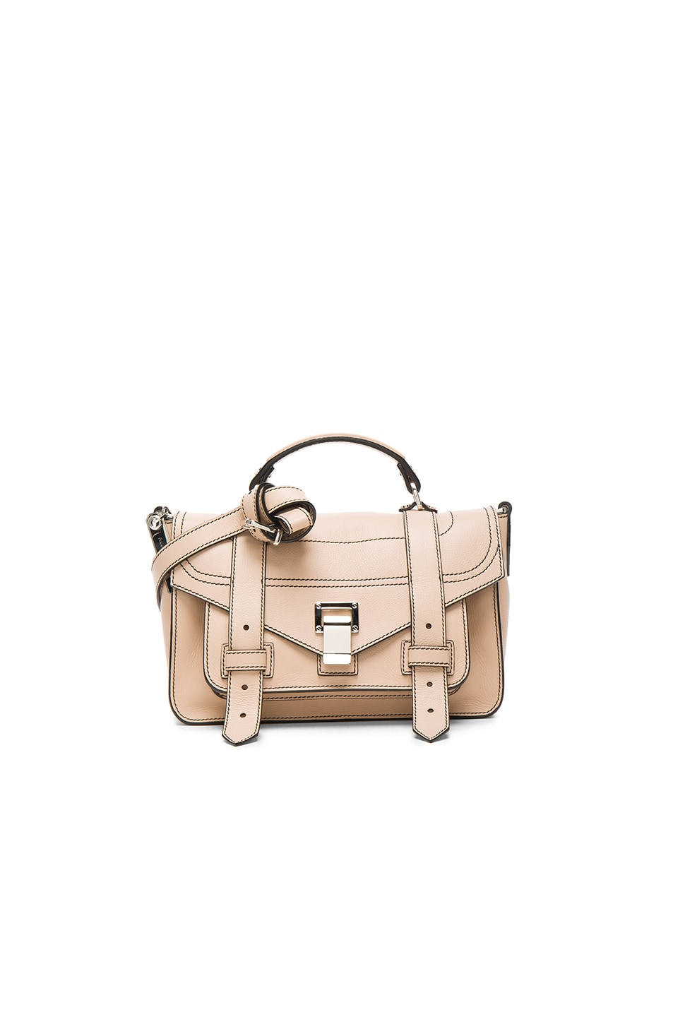 Image 1 of Proenza Schouler Tiny PS1+ Grainy Calf Leather in Sand
