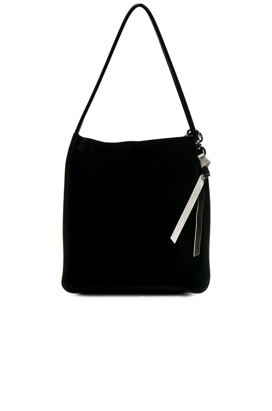 Image 1 of Proenza Schouler Extra Large Suede Tote in Black