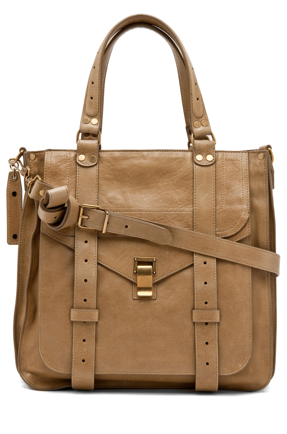 Image 1 of Proenza Schouler PS1 Tote Leather in Bronze