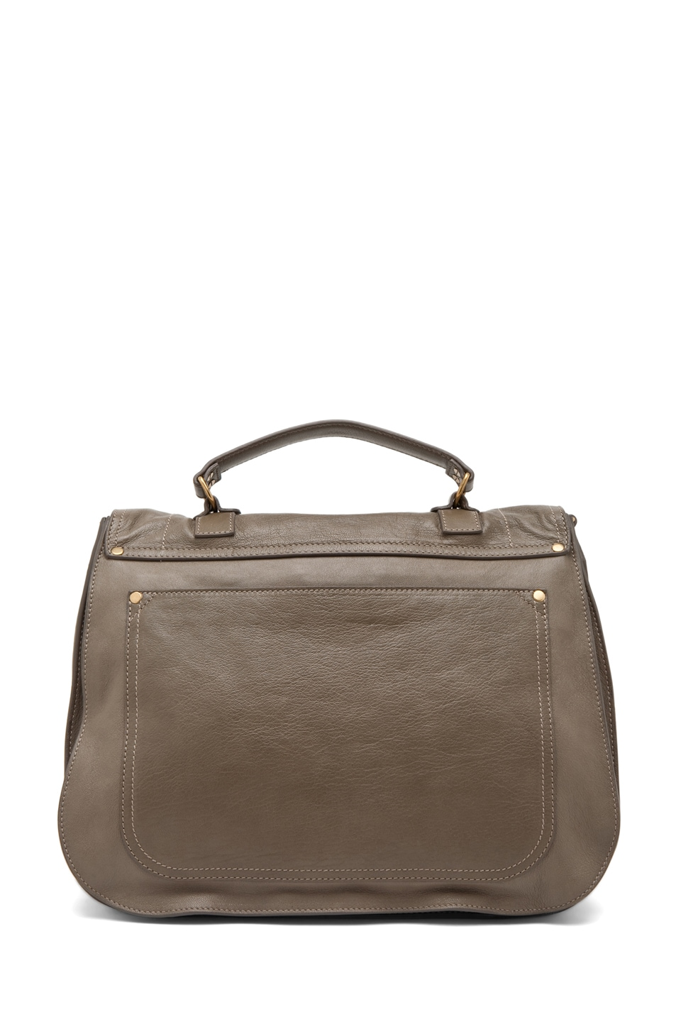 Image 2 of Proenza Schouler X-Large PS1 Leather in Smoke