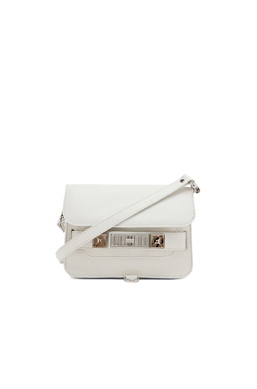 Image 1 of Proenza Schouler Mini PS11 Classic in White
