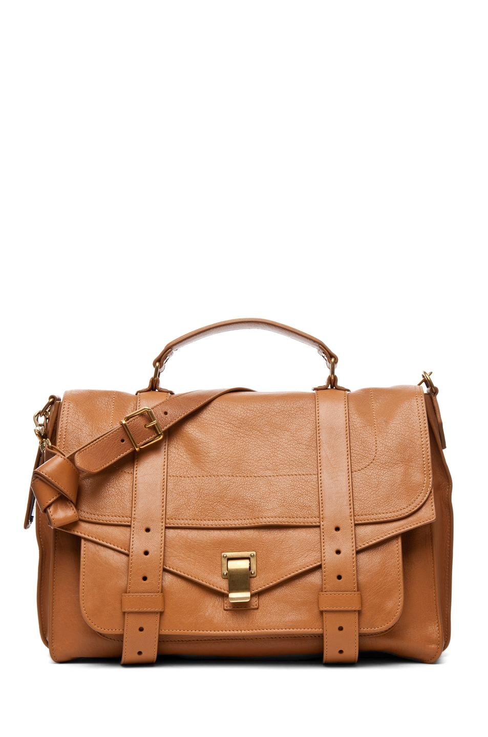 Image 1 of Proenza Schouler Large PS1 Leather in Birch