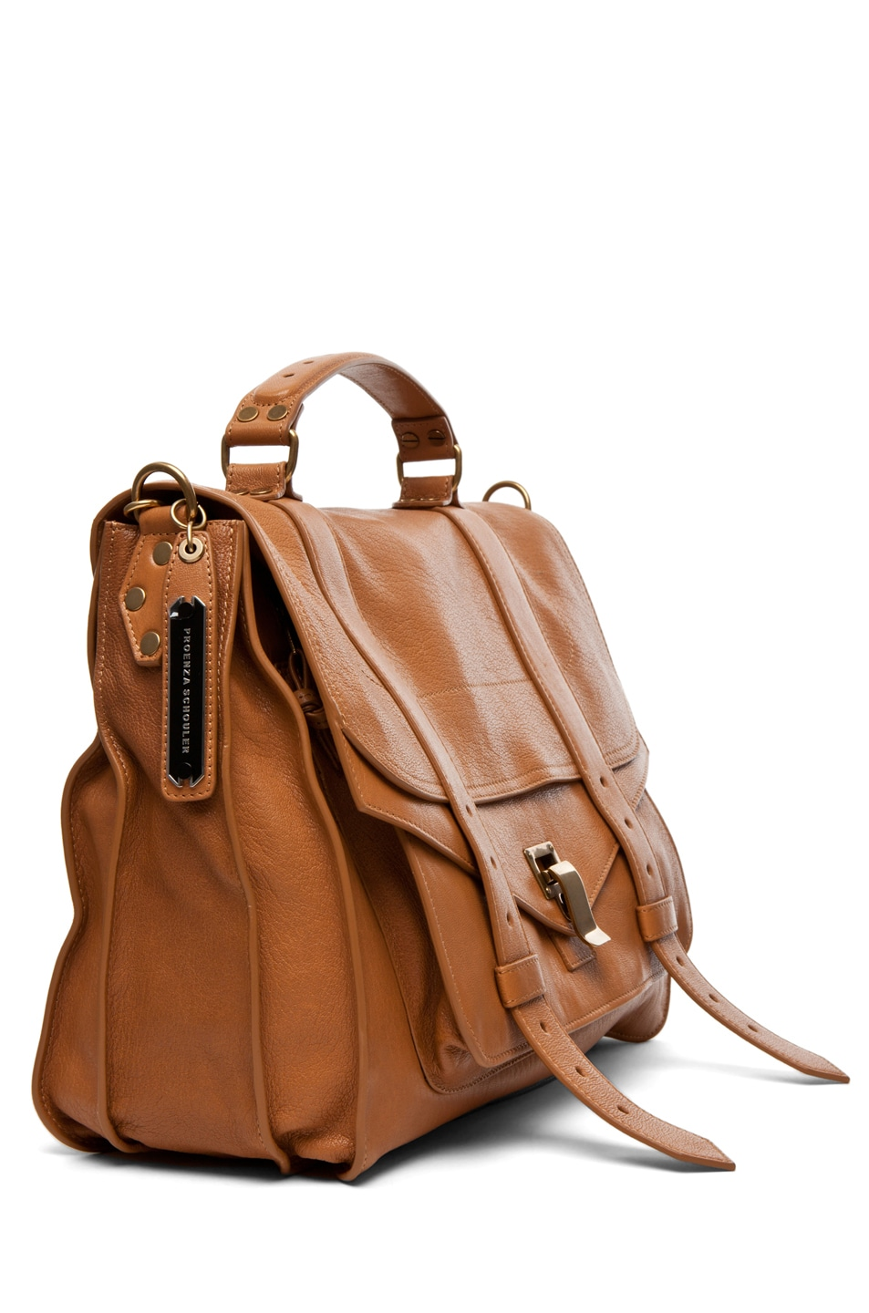 Image 3 of Proenza Schouler Large PS1 Leather in Birch
