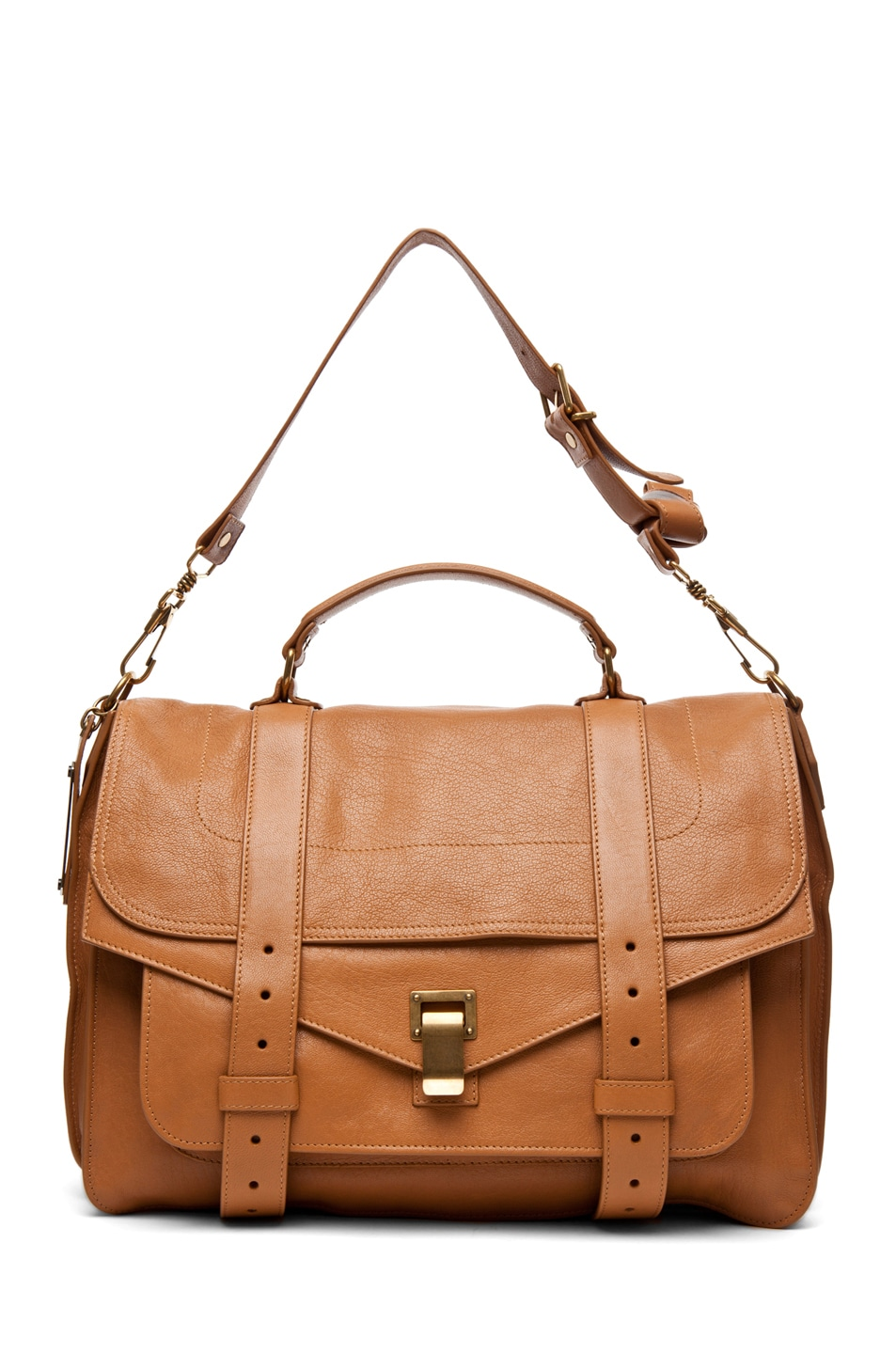 Image 5 of Proenza Schouler Large PS1 Leather in Birch