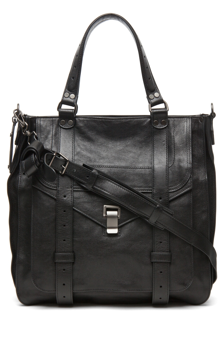 Image 1 of Proenza Schouler PS1 Large Tote Leather in Black
