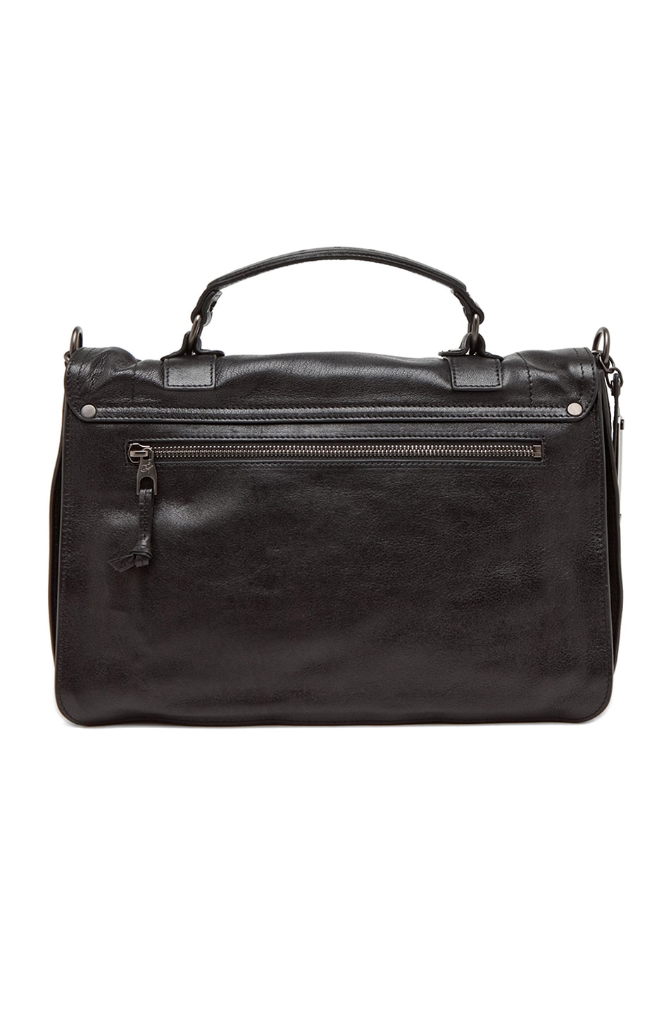 Image 3 of Proenza Schouler Medium PS1 Leather in Black