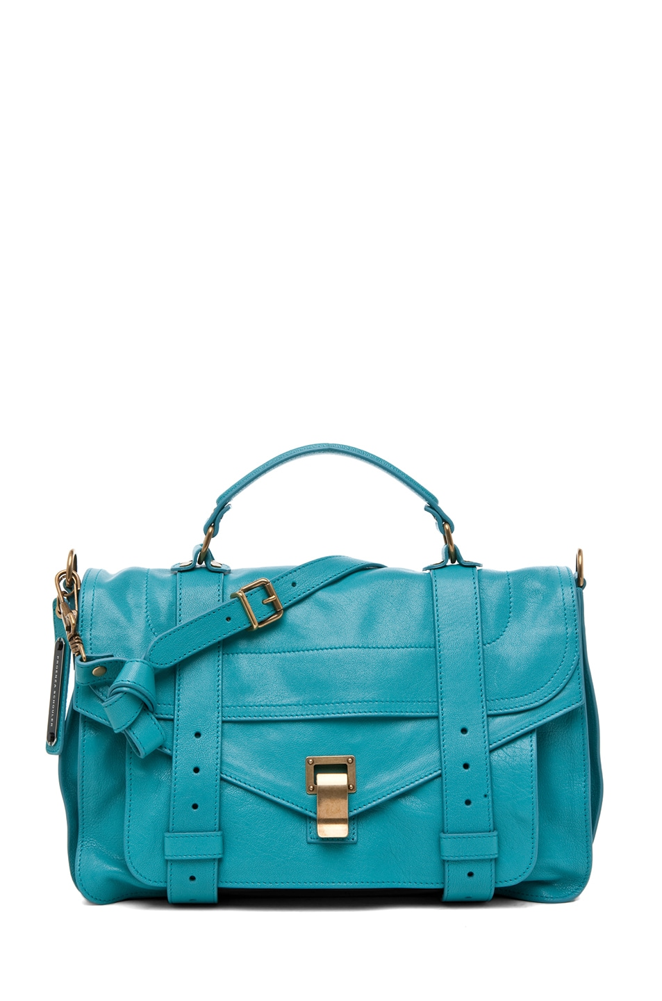 Image 1 of Proenza Schouler PS1 Medium Leather in Lagoon