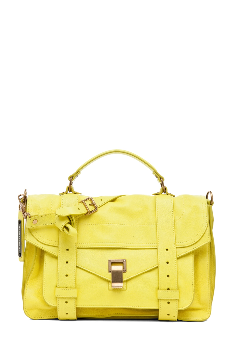 Image 1 of Proenza Schouler PS1 Medium Leather in Sunshine