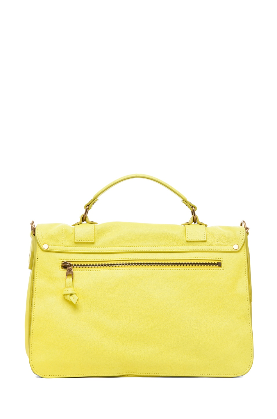 Image 2 of Proenza Schouler PS1 Medium Leather in Sunshine