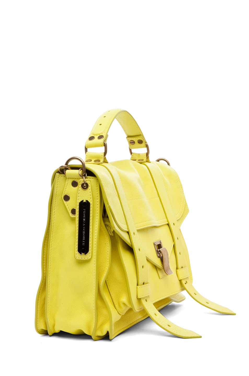 Image 3 of Proenza Schouler PS1 Medium Leather in Sunshine