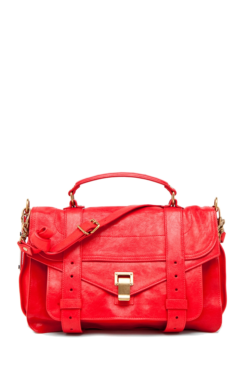 Image 1 of Proenza Schouler PS1 Medium in Bright Red
