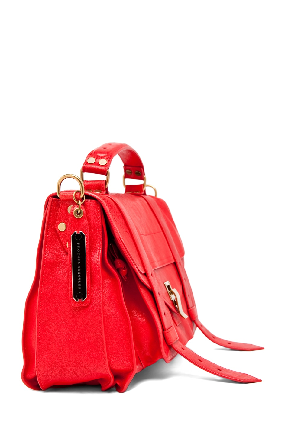 Image 3 of Proenza Schouler PS1 Medium in Bright Red