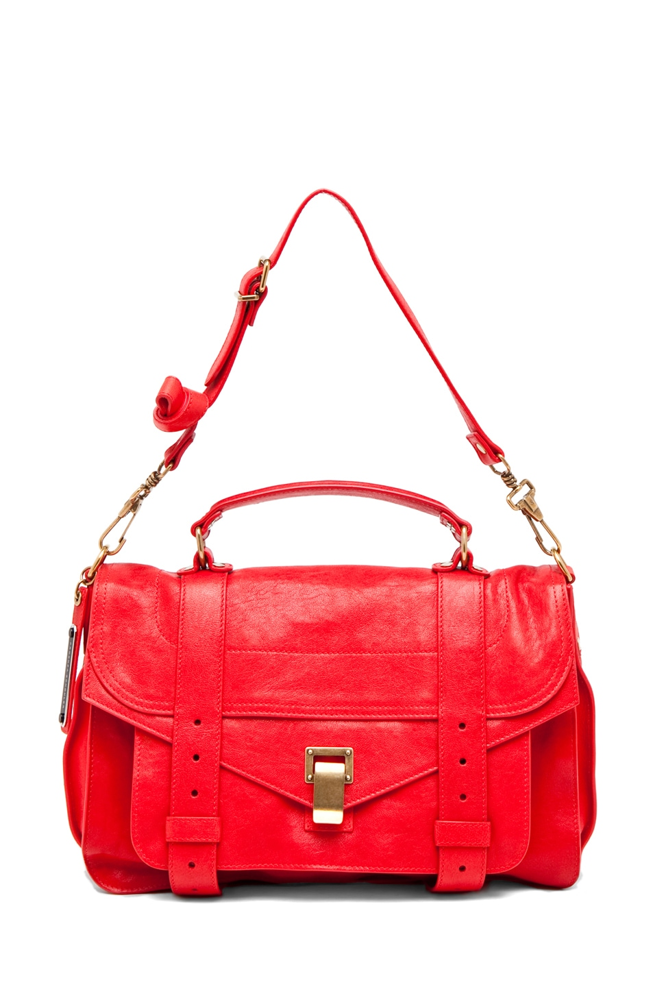 Image 5 of Proenza Schouler PS1 Medium in Bright Red