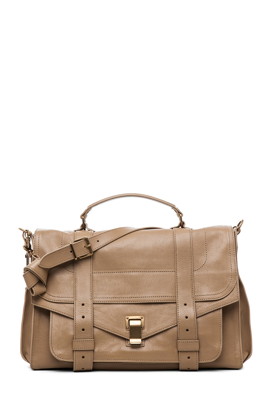 Image 1 of Proenza Schouler PS1 Large Leather in Sahara