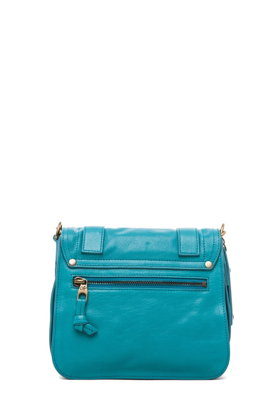 Image 2 of Proenza Schouler PS1 Pouch Leather in Lagoon