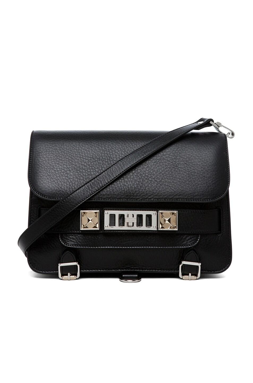 Image 1 of Proenza Schouler PS11 Classic Shoulder Bag in Black