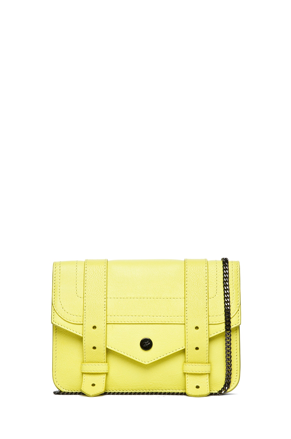 Image 1 of Proenza Schouler PS1 Large Chain Wallet in Sunshine