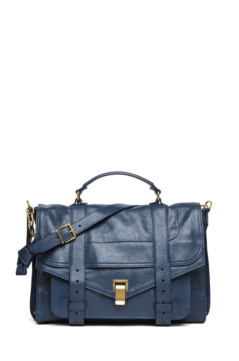 Image 1 of Proenza Schouler Large PS1 Leather in Midnight