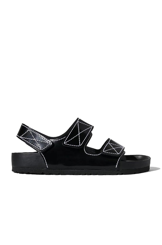 Image 1 of Proenza Schouler x Birkenstock Milano Slides in Black