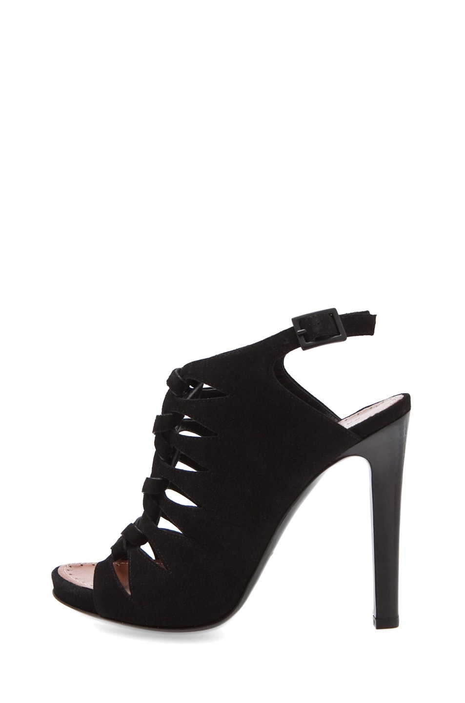Image 1 of Proenza Schouler Strappy Heel in Black
