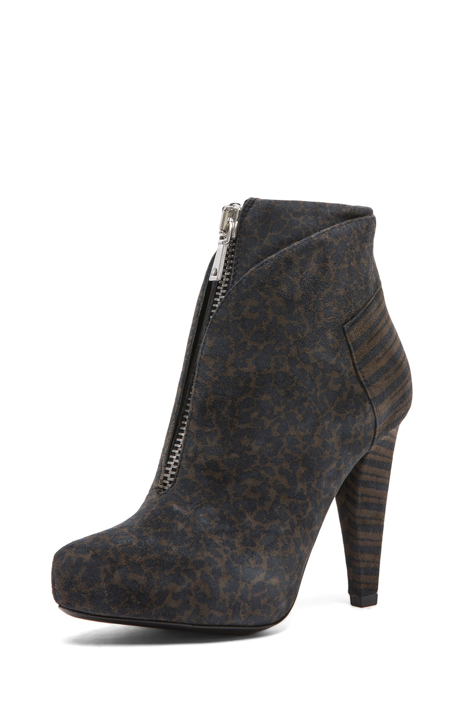 Image 2 of Proenza Schouler Suede Ankle Boots in Grey