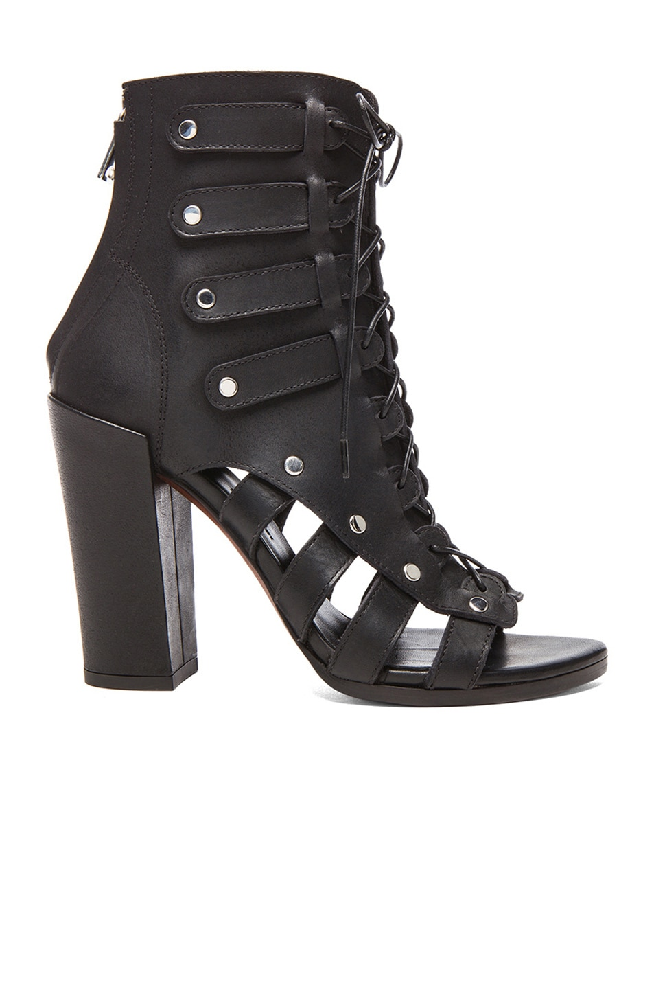 Proenza Schouler Leather Open Toe Boots yyVQtzz