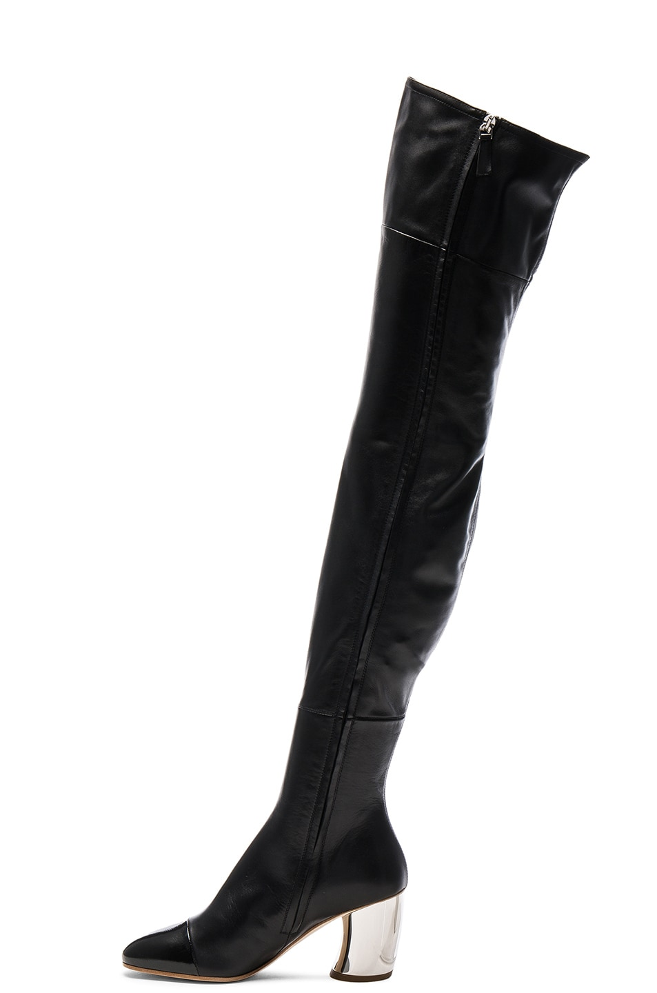 Over-the-knee leather boots Proenza Schouler 5t3QWky