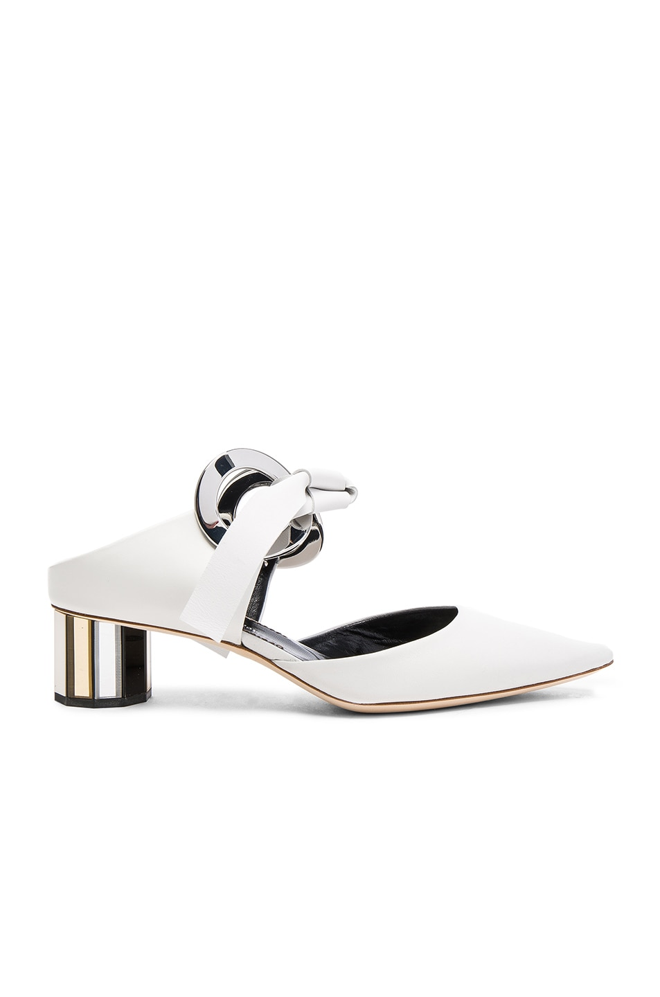 Image 1 of Proenza Schouler Leather Pumps in White