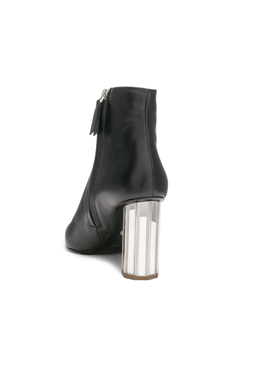 Image 3 of Proenza Schouler Mirror Heel Ankle Boots in Black & Silver