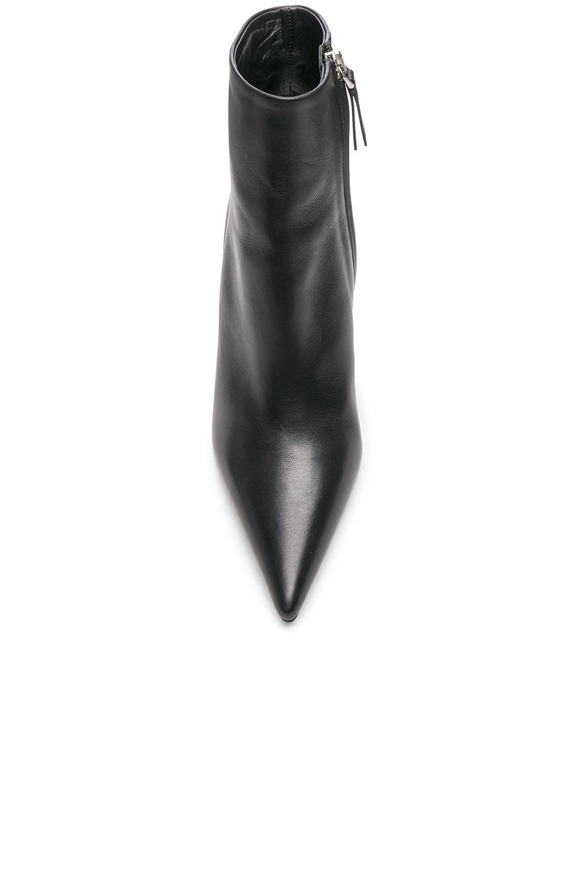 Image 4 of Proenza Schouler Mirror Heel Ankle Boots in Black & Silver