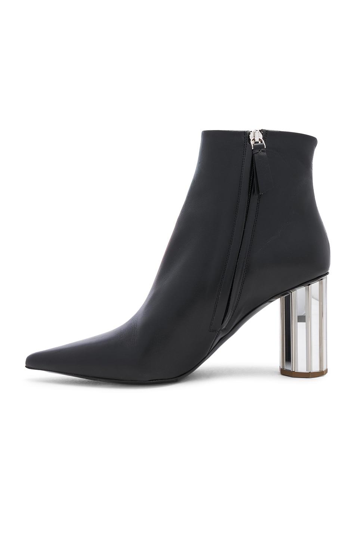 Image 5 of Proenza Schouler Mirror Heel Ankle Boots in Black & Silver