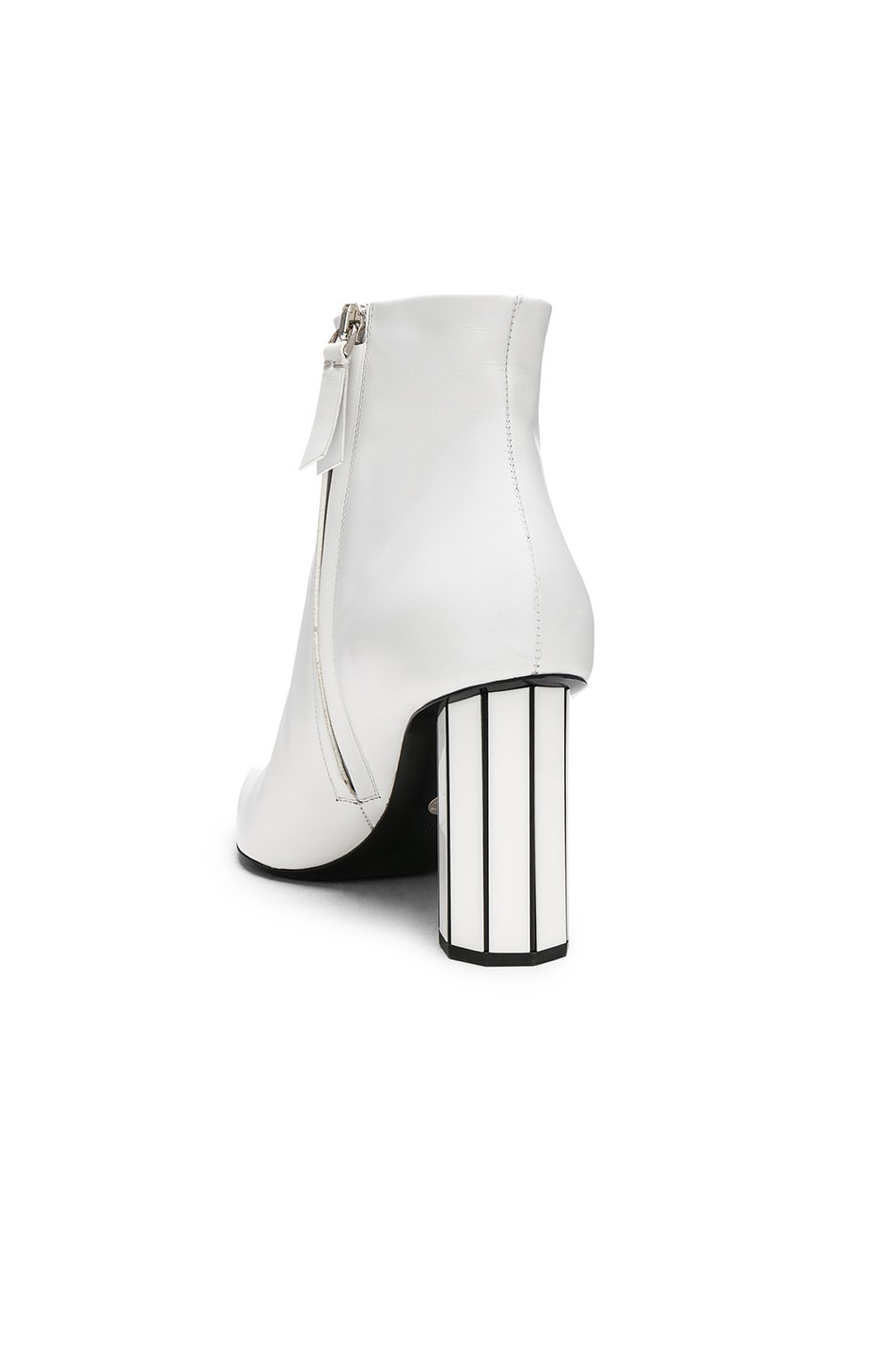 Image 3 of Proenza Schouler Mirror Heel Ankle Boots in White