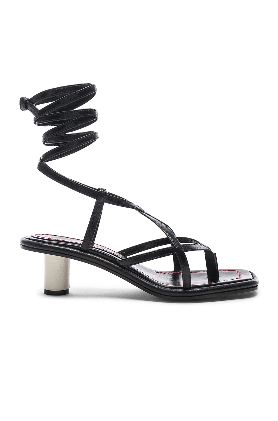 Image 1 of Proenza Schouler Gladiator Sandals in Nero