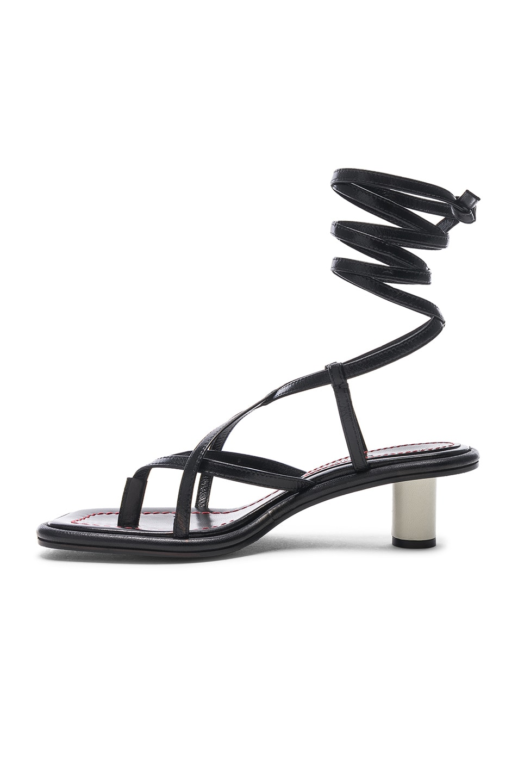 Image 5 of Proenza Schouler Gladiator Sandals in Nero