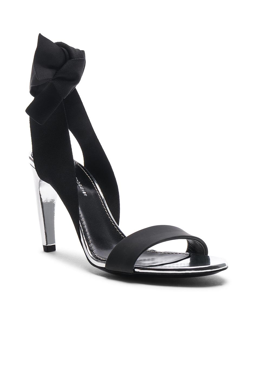 Image 2 of Proenza Schouler Tie Heels in Argento