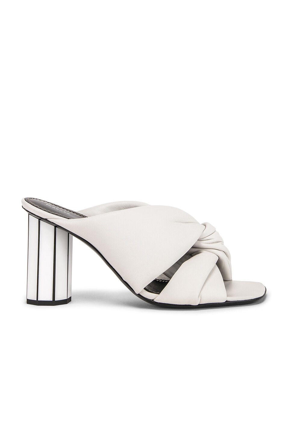Image 1 of Proenza Schouler Mirror Heel Twist Mules in White